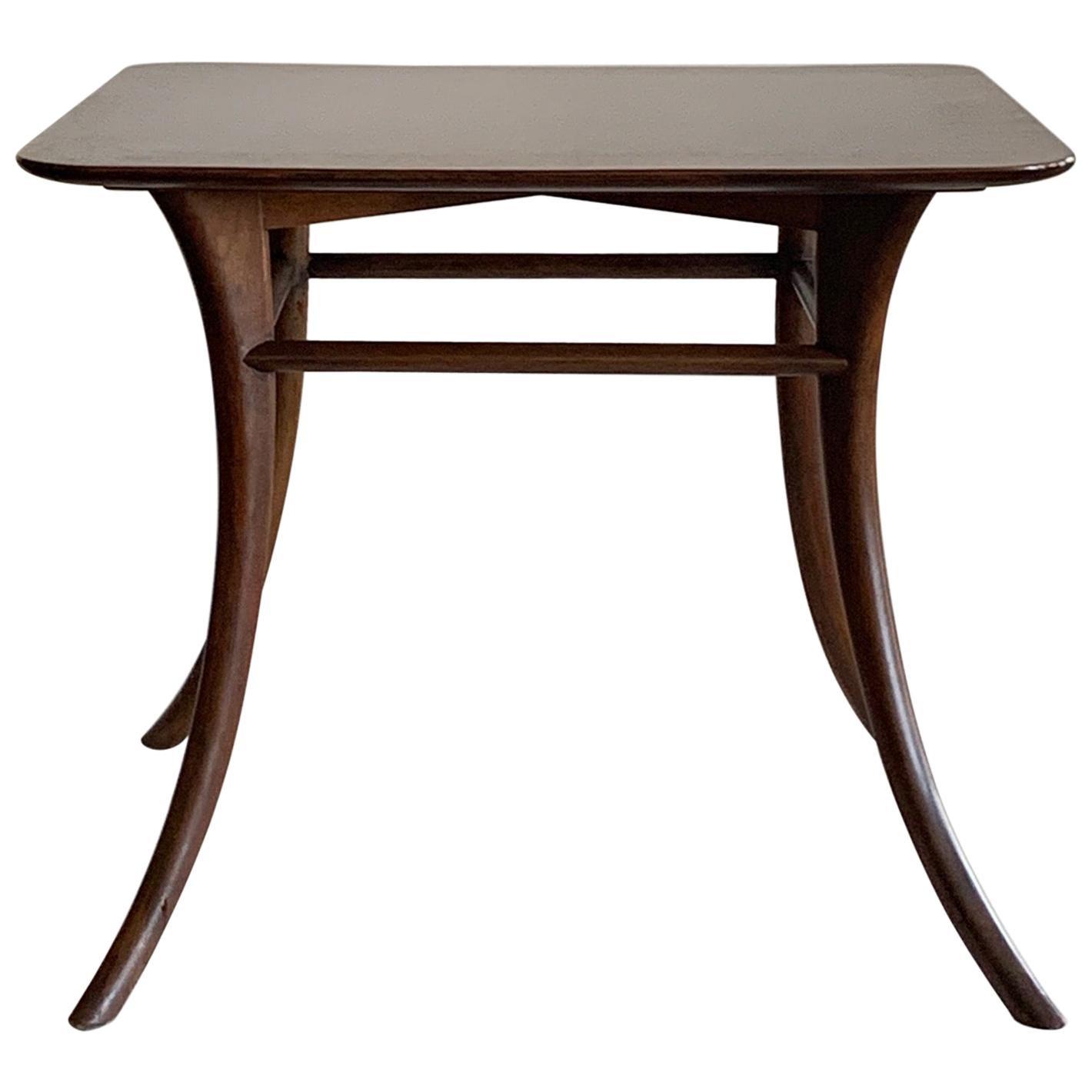 T.H. Robsjohn-Gibbings for Widdicomb Occasional Klismos Table