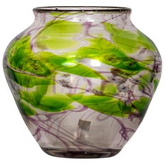 Tiffany Favrile Paperweight Glass Vase, circa 1904