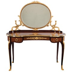 Transitional Style Dressing Table Attributed to François Linke, circa 1900