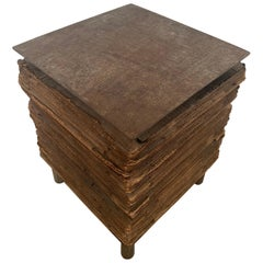 A Unique and Important Steel and Cardboard Table, Campana Brothers