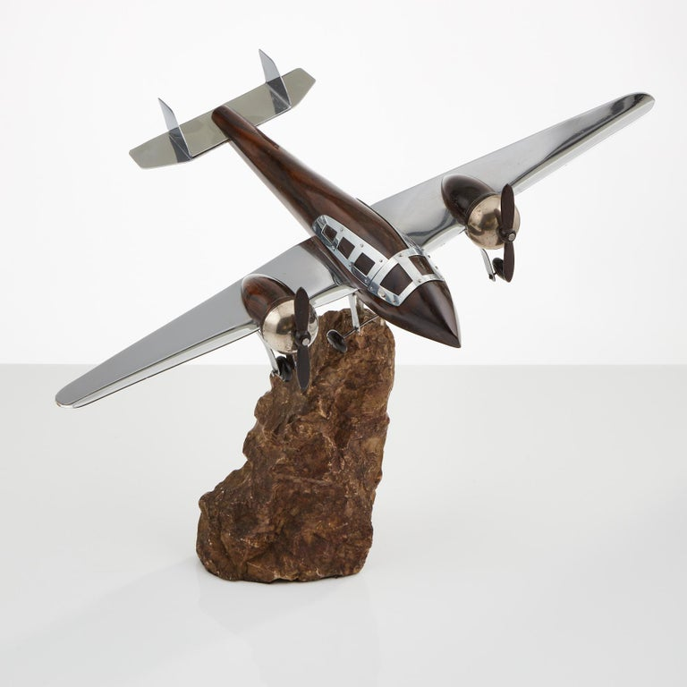 A unusual model of an aircraft, circa 1940