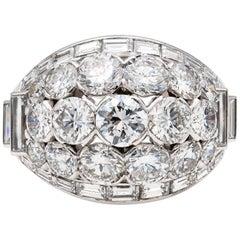 Van Cleef & Arpels Diamond Bombé Ring