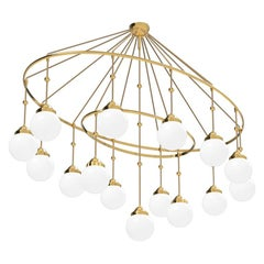 Variation of the Classical Brioni Chandelier by Adolf Loos, Re-Edition