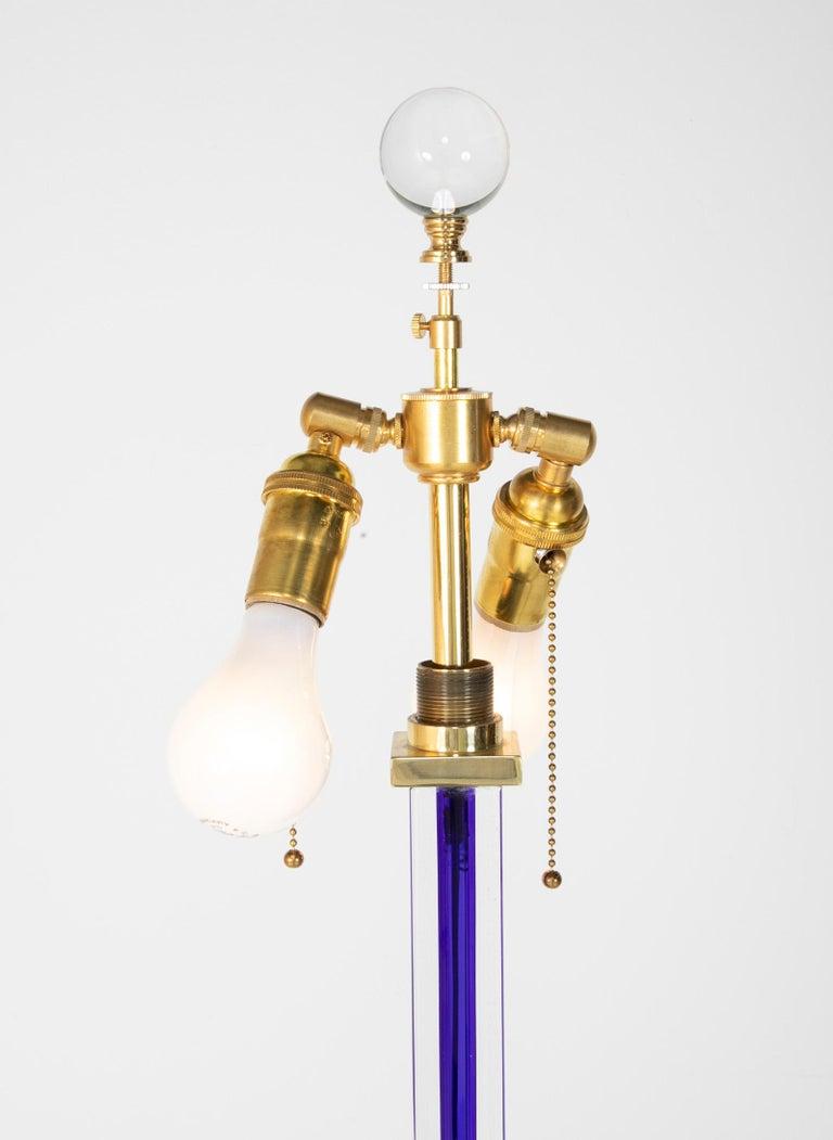 Venini Glass Floor Lamp, circa 1999 For Sale 1