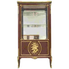 Very Fine 19th Century French Viewing Vitrine Attributed to F. Linke