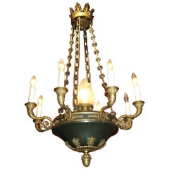 Very Fine Empire Style Chandelier