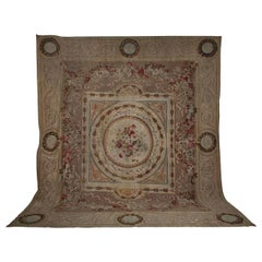Very Fine French Aubusson Carpet of the 18th Century