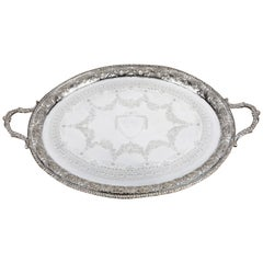 Very Good Quality Early 20th Century Oval Tray