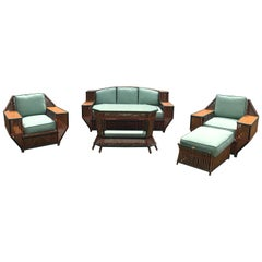 Very Special Stick Rattan Porch Set