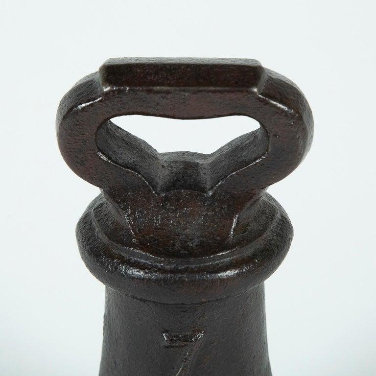 19th Century Victorian Cast Iron 7 lb Weight or Door Stop