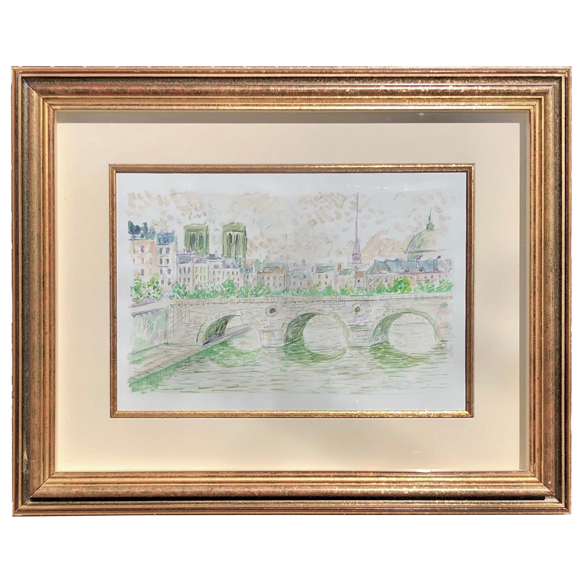 """""""A View of Paris"""" by Serge Mendjisky"""