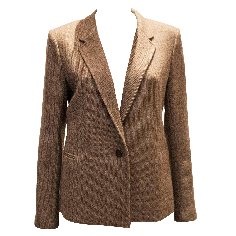 A vintage autumnal wool jacket by joesph