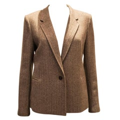 A vintage autumnal wool jacket by joesph