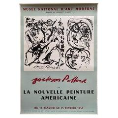 Vintage Jackson Pollock Poster 1959