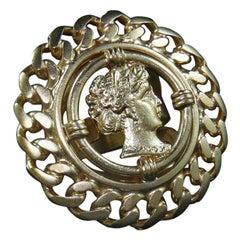 A Vintage Neoclassical Bronze Ring by Patrizia Daliana