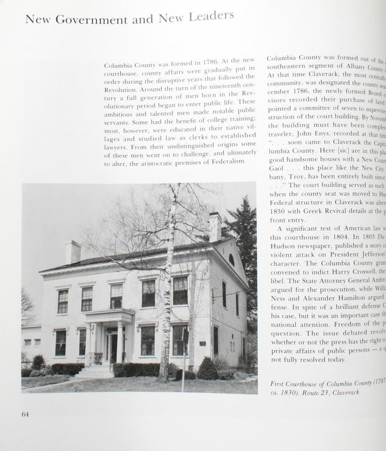 Visible Heritage-Columbia County NY, a History in Art and Architectucture, 1st For Sale 8