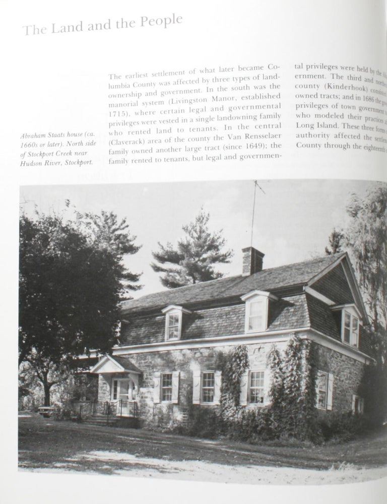 American Visible Heritage-Columbia County NY, a History in Art and Architectucture, 1st For Sale