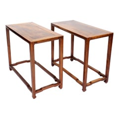 Well Proportioned Pair of Ming Style Console Tables