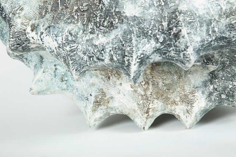 Hand-Crafted 'A Whale' Ceramic Sculpture by Chisato Yasui For Sale