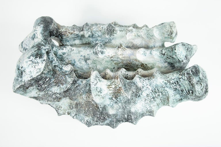 'A Whale' Ceramic Sculpture by Chisato Yasui For Sale 1