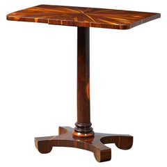William IV Laburnum Side Table
