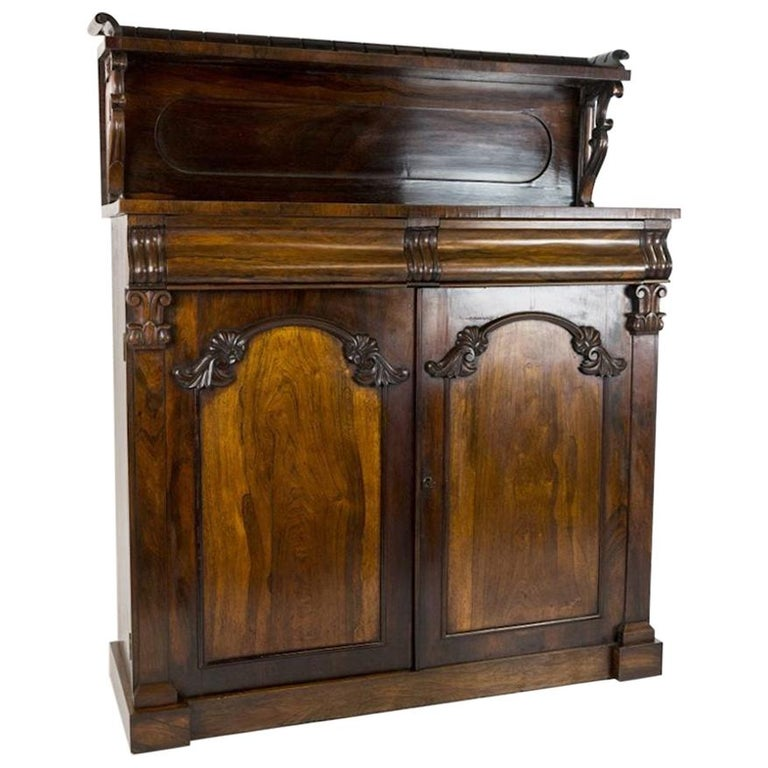 William IV Rosewood Chiffonier For Sale