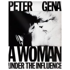 """""""A Woman Under the Influence"""" 1974 U.S. Film Poster"""