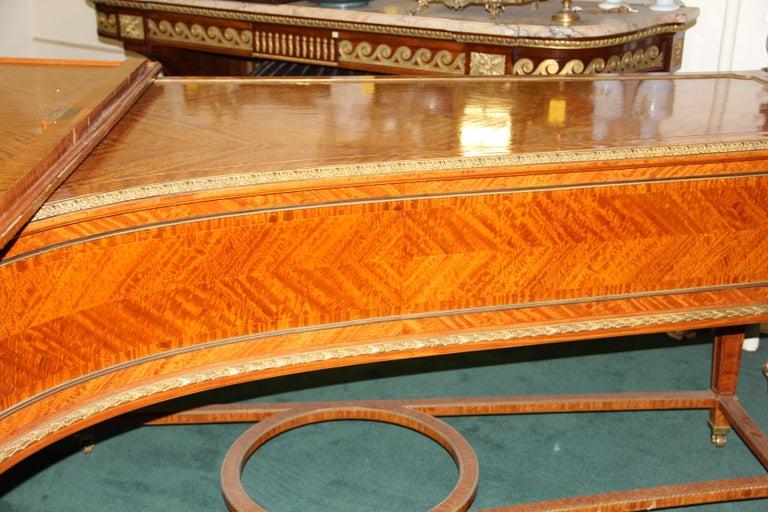 Early 20th Century Wonderful Turn of the Century Gilt Bronze Mounted Six-Leg Grand Erard Piano For Sale