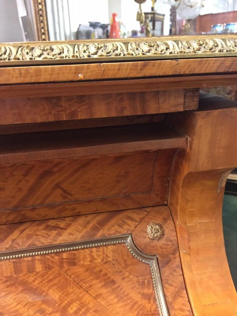 Wonderful Turn of the Century Gilt Bronze Mounted Six-Leg Grand Erard Piano For Sale 2
