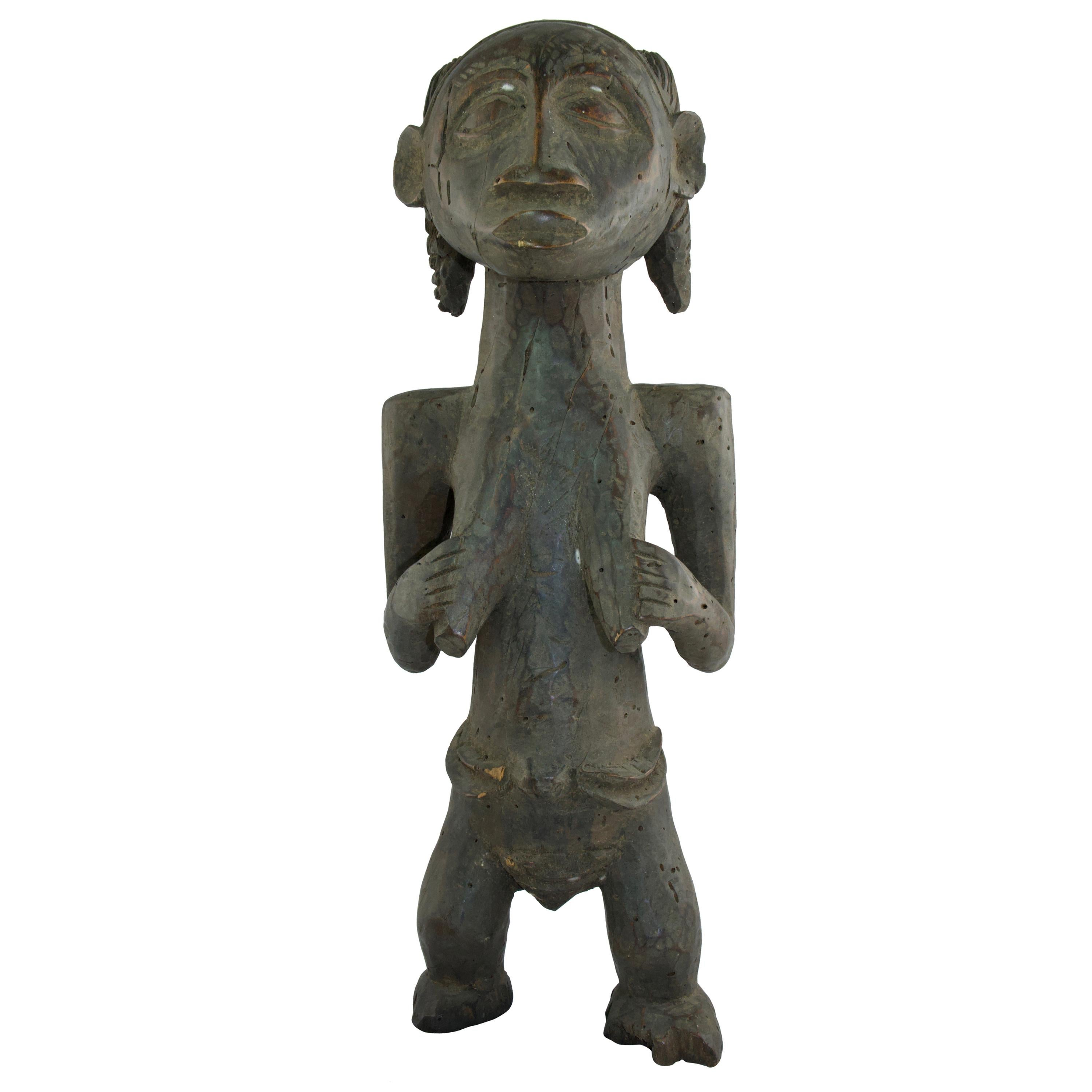 Wooden Sculpture, Hemba Style, 20th C