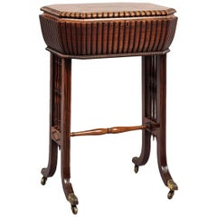 Work Table in the Manner of Gillows, English, circa 1820
