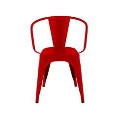 A56 Armchair in Chilli Pepper by Jean Pauchard & Tolix, US