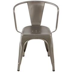 A97 Armchair in Steel with Satin Lacquer by Chantal Andriot & Tolix