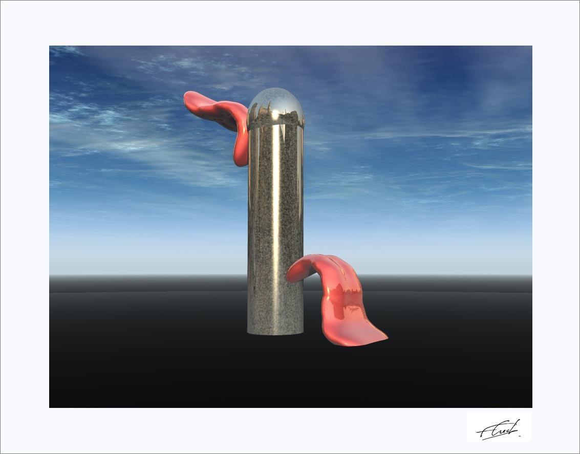 """""""Erotic Mind III"""" 2018 Utopian Sculptures Serial Prints by Fernando Crespo #100"""
