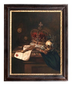 VANITAS  Oil on Canvas by Edward Collier