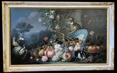 Exceptional Italian 18th Century Still-Life Paintings by Felice Rubbiani