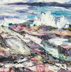 Ocean of Noise - Seascape Print by Debbie Mackinnon