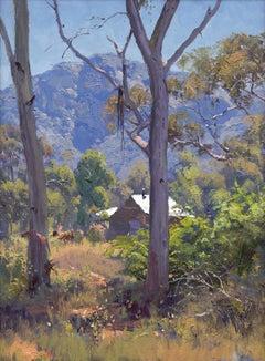 The Valley Floor, Captertee Valley - Landscape Print by Warwick Fuller, 2018