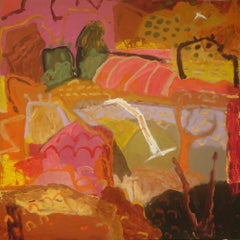 Devotions - Abstract Landscape by Sally Stokes