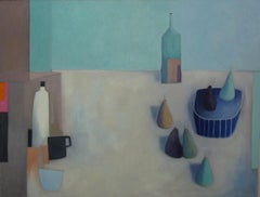 Pears-Pyrus Communis I - Still Life Painting by Mary Donnelly
