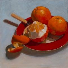 Vitamic C - Still Life Painting by Sally Ryan