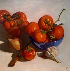 Off the Vine - Still Life Painting by Sally Ryan