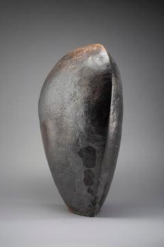 Armour - manganese clay, shino glaze.