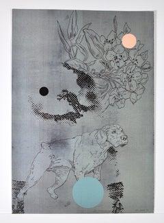 Lars Grenaae, signed Screen Print, 1998