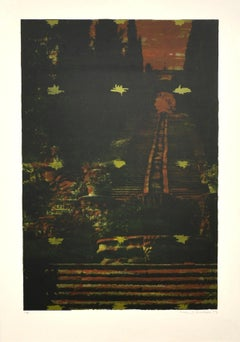 Screen Print by Kehnet Nielsen, numbered and signed, 1993