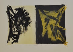 Peter Brandes, Lithograph, 1984, Signed, E/A