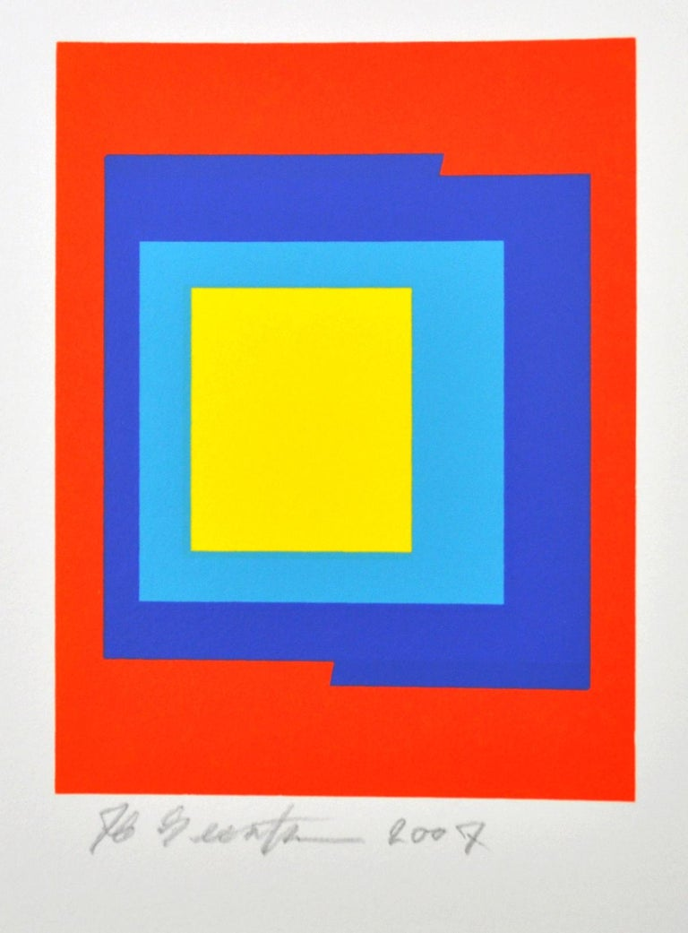 Screen Prints (3) by Ib Geertsen, signed, 2007 For Sale 2
