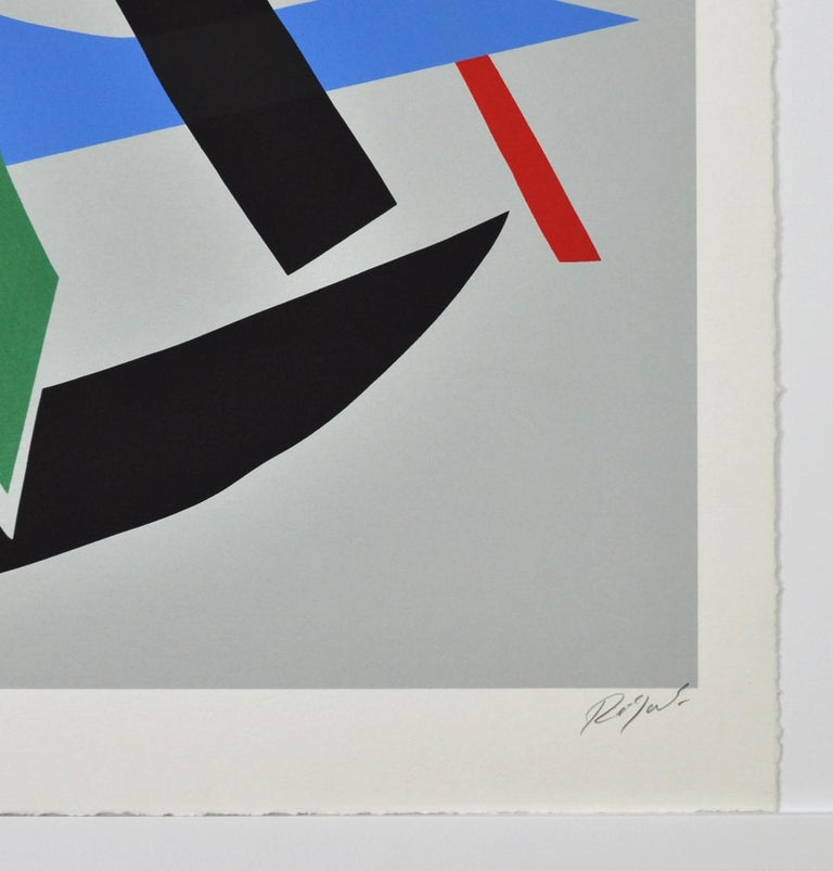Serigraphy by Robert Jacobsen, Untitled, 1980s Numbered and signed. 