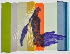 Scandinavian Lithograph by Malene Landgreen, Untitled, ca. 2012