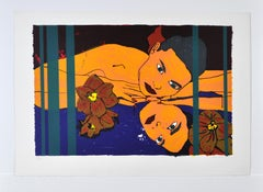 Serigraphy by Lars Ravn, signed and numbered, 1994